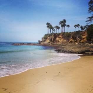 emty beach image