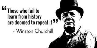 churchill learn from history